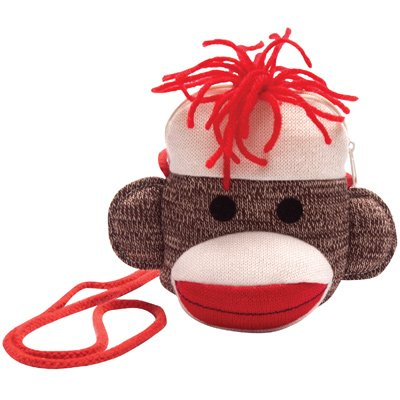 Sock Monkey Purse