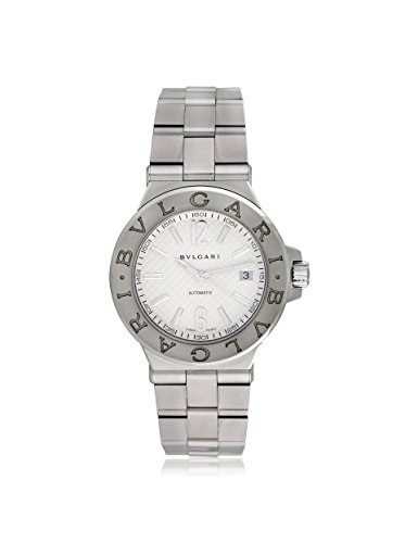 Bulgari Men's Pre-Owned Diagono Silver/Stainless Steel Watch