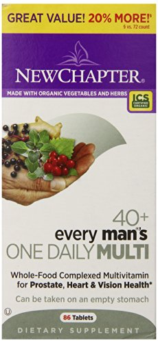 New Chapter Every Man'S One Daily 40 Plus Bonus Tablets, 86 Count
