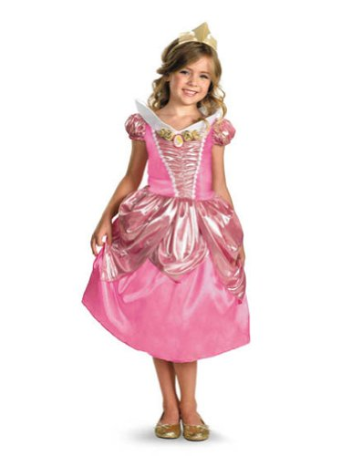 Baby-toddler-costume Aurora Lame Deluxe Toddler Costume 3t-4t Halloween Costume