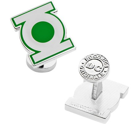 Cufflinks-Inc-Mens-Green-Lantern-Symbol-Cufflinks