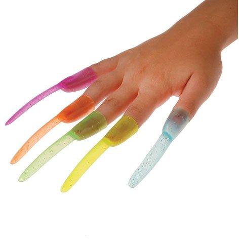 Glitter Finger Nails - 1