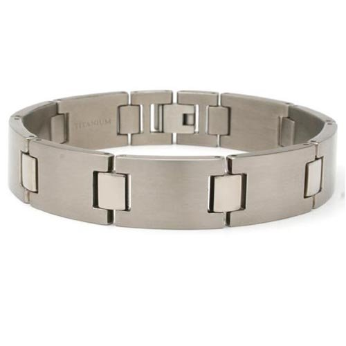 New 9″ Mens Titanium Bracelet