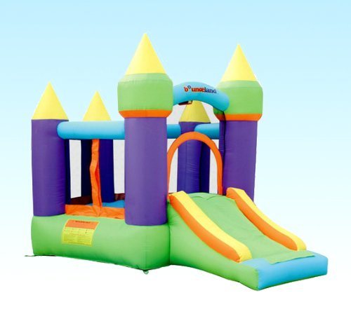 Bounceland Inflatable Magic Bounce House Bouncer