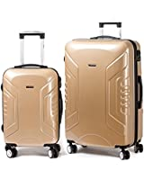 Jipin Alhambra Spinner 3 Piece Luggage Set