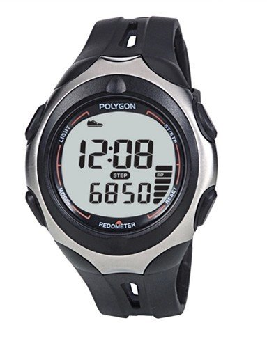 Watch style 3D sensor electronic portable pedometer Polygon B00J09PM1O