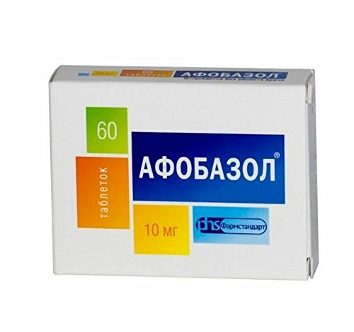Afobazole 60 Tablets Anti Stress Happy Pills, Reduce Anxiety And Sleep Disorders