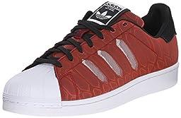 adidas Originals Men\'s Superstar CTMX Shoes,Collegiate Burgundy/White/Black,11.5 M US