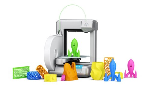 Cube 3D Printer - Cubify 3D Systems - Silver