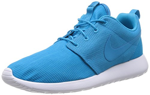 Nike Rosherun Scarpe sportive, Uomo, Bl Lgn/Bl Lgn-Lt Bl Lcqr-Wht, 44