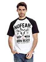 No Fear Camiseta Lightning (Blanco / Negro)