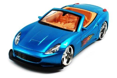 Ferrari California Electric Rc Car Flaming Srv 1:20 Rtr (Colors May Vary) Led Wheel Lights