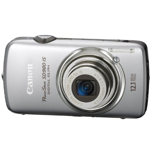 Canon PowerShot SD980 IS is one of the Best Ultra Compact Point and Shoot Digital Cameras for Travel Photos Under $400