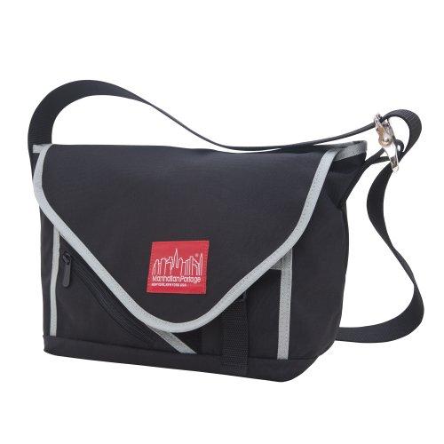 manhattan-portage-flat-iron-messenger-bag-small-black-silver
