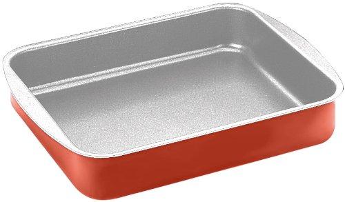 Ibili 370140 Cupra Plat à four antiadhésif Aluminium 40x33x7 cm