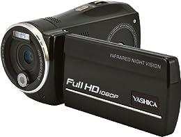 YASHICA ナイトビジョン搭載 フルハイビジョンカムコーダー ADV-518HD <33400>