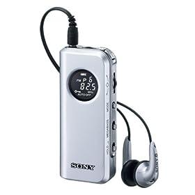 SONY FMステレオ/AMポケッタブルラジオ M98 シルバー SRF-M98/S