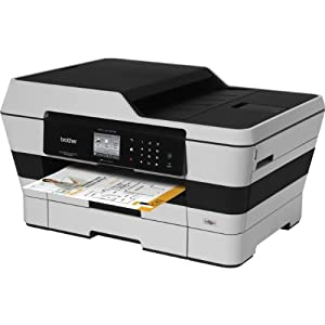 Brother Printer MFC-J6720DW Wireless Color Printer with Scanner, Copier and Fax