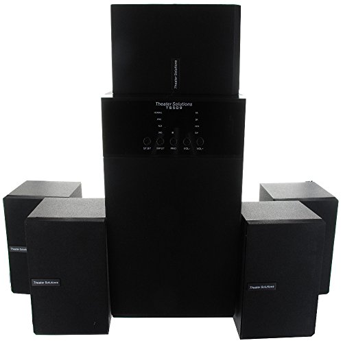 Theater Solutions TS509 Home Theater 5.1 Speaker System with Bluetooth and Optical Input TS509BD