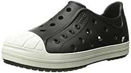 crocs Bump It Shoe Slip-On Shoe (Toddler/Little Kid), Black/Oyster, 13 M US Little Kid