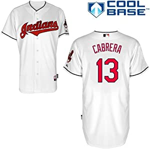 Asdrubal Cabrera Cleveland Indians Home Authentic Cool Base Jersey by Majestic by Majestic