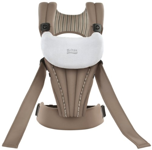 Britax Baby Carrier, Organic Tan front-687098