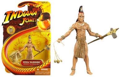 Ugha Warrior Indiana Jones 3 inch figures - 1