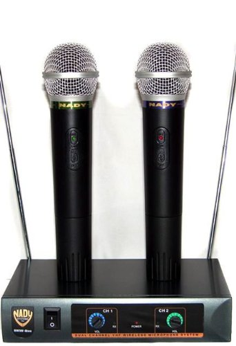 Brand New Nady Dkw-duo Dual Wireless Vhf Microphone System with up to 300 Foot Range and Top of the Line Sound Quality