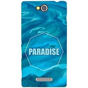 Sony Xperia C Back Cover - Paradise Designer Cases