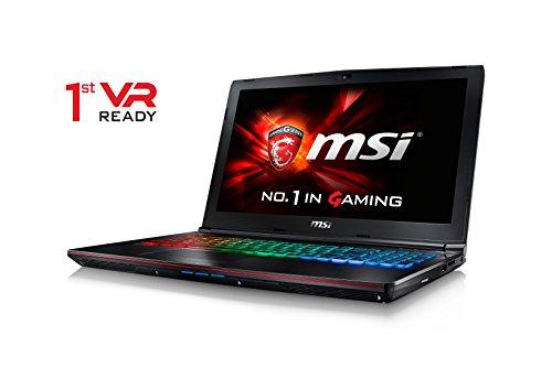 CUK MSI GE62VR Apache Pro VR Ready Laptop (i7-6700HQ, 32GB RAM, 500GB SSD + 1TB HDD, NVIDIA Geforce GTX 1060...