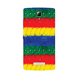 Skintice Designer Back Cover with direct 3D sublimation printing for Lenovo A2010