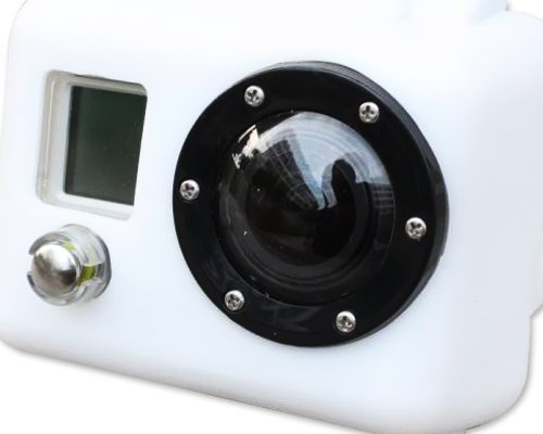 Bluefinger Silicone Case For Gopro Hero 2(Color White)