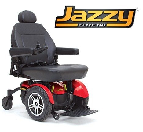 Pride Mobility Jelitehd Jazzy Elite Hd Electric Wheelchair
