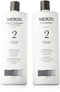 Nioxin System 2 Cleanser and Scalp Th…