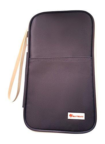Passport-Wallet-MOTRAD-Passport-Pouch-For-Men-Women-Family-Travel-With-Zipper-Strap-Waterproof-Unisex-Passport-Holder-Size-H-53-x-W-13-x-L-98