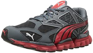 PUMA Men's Mell Es Suga Cross-Training Shoe,Turbulence/High Risk Red,6.5 M US