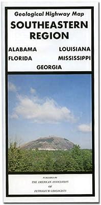 Southeastern Region Geological Highway Map (Pvp (Series), Vol. 352.)