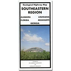 Southeastern Region Geological Highway Map (Pvp (Series), Vol. 352.)