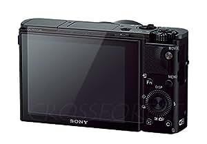 クロスフォレスト SONY RX100 IV/RX100 III/RX100 II/RX100/RX1/RX10/RX1R用ガラスフィルム 日本製ガラス使用 ラウンドエッジ Glass Film CF-GCSRX100 液晶保護フィルム