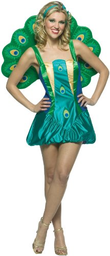 Rasta Imposta Women's Peacock Adult Costume