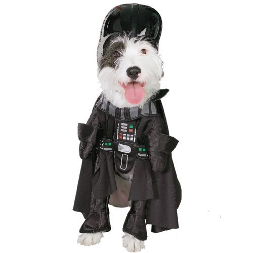 Darth Vader Dog Pet Costume - Large front-957481