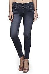 ahhaaaa Grey slim fit denim jeans for Women