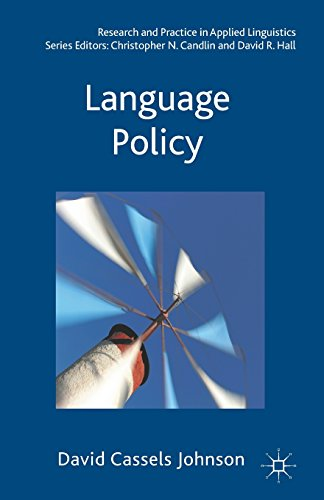 Language Policy (Research and Practice in Applied Linguistics)
