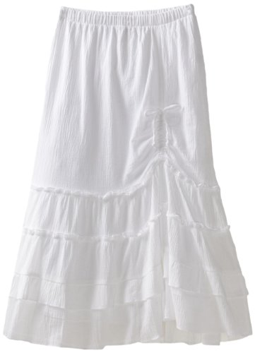 My Michelle Girls 7-16 Maxi Skirt, White, Medium