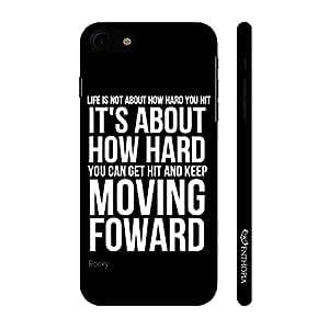 Enthopia Designer Hardshell Case Rocky's Speech 5 Back Cover for Apple iPhone 7