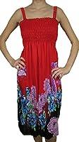 2626 Sun Dress Multi Colors Stretch Knee High Tank Top Women Dress
