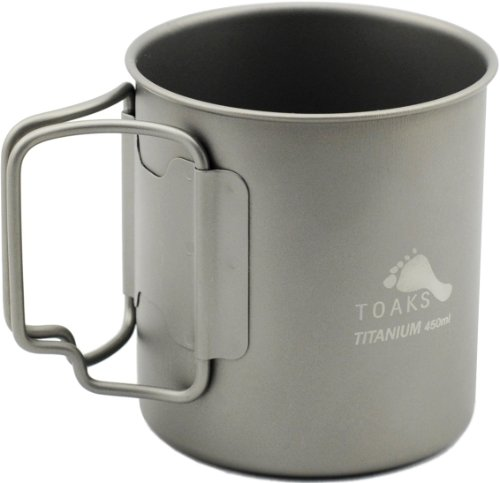 TOAKS Titanium 450ml Cup (Titanium Pot Backpacking compare prices)
