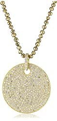Mary Louise Pyrite and Extra Large Cubic Zirconia Necklace