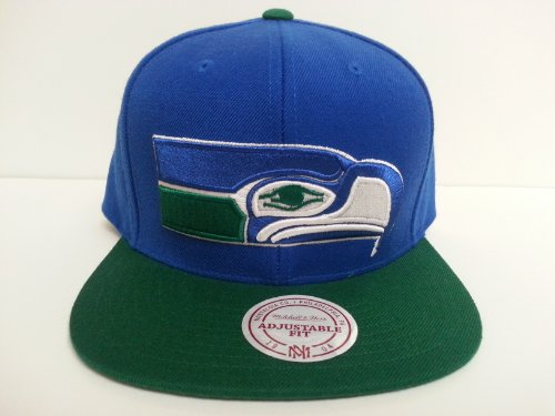 Mitchell-Ness-Seattle-Seahawks-Snapback-Hat