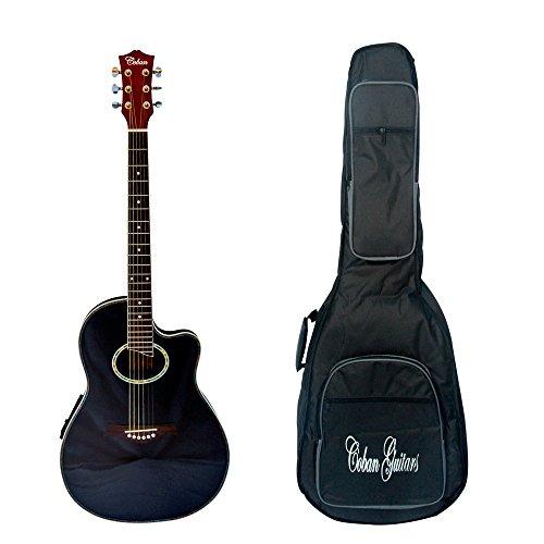 coban-guitare-roundback-electro-acoustique-4-eq-premier-uni-noir-brillant-inc-luxe-20-mm-housse-pour